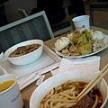 華航VIP室提供的午餐
