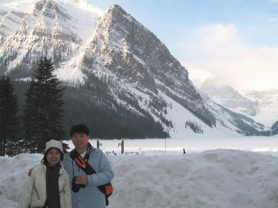 露易絲湖零下13度的早晨