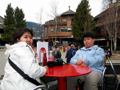 WHISTLER奧運渡假村的午餐