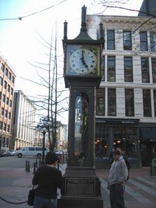 古老的蒸氣鐘