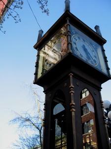 古典氣息濃厚的蒸氣鐘
