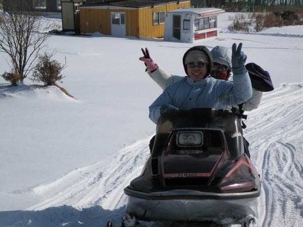 登別牧場-雪上摩托車