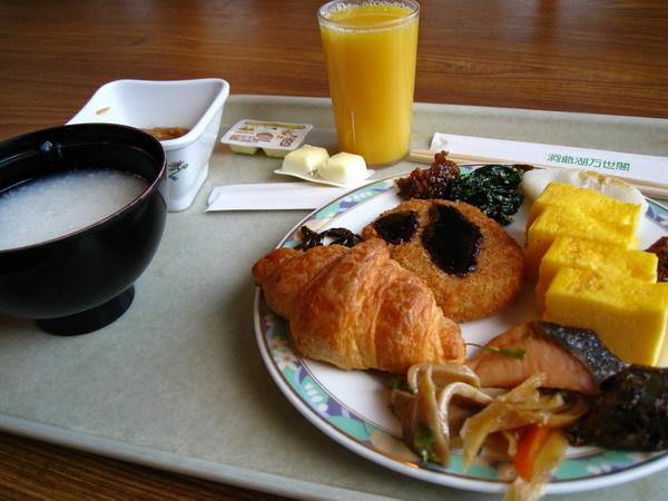 洞爺湖萬世閣早餐