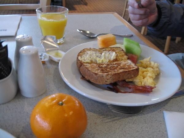 飯店供應的早餐