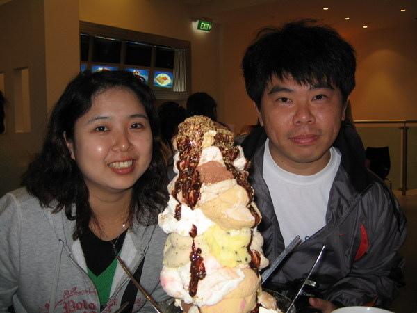 超大火山冰淇淋