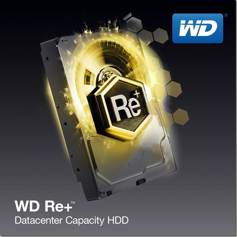 WD推出全球最節能高容量3.5吋現代資料中心專用硬碟Re