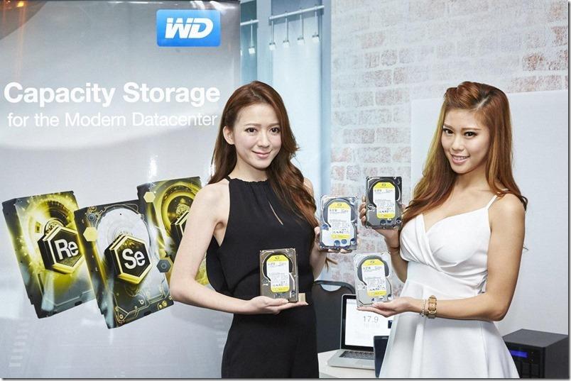 WD 推出全球最節能高容量WD Re 3.5吋現代資料中心專用硬碟
