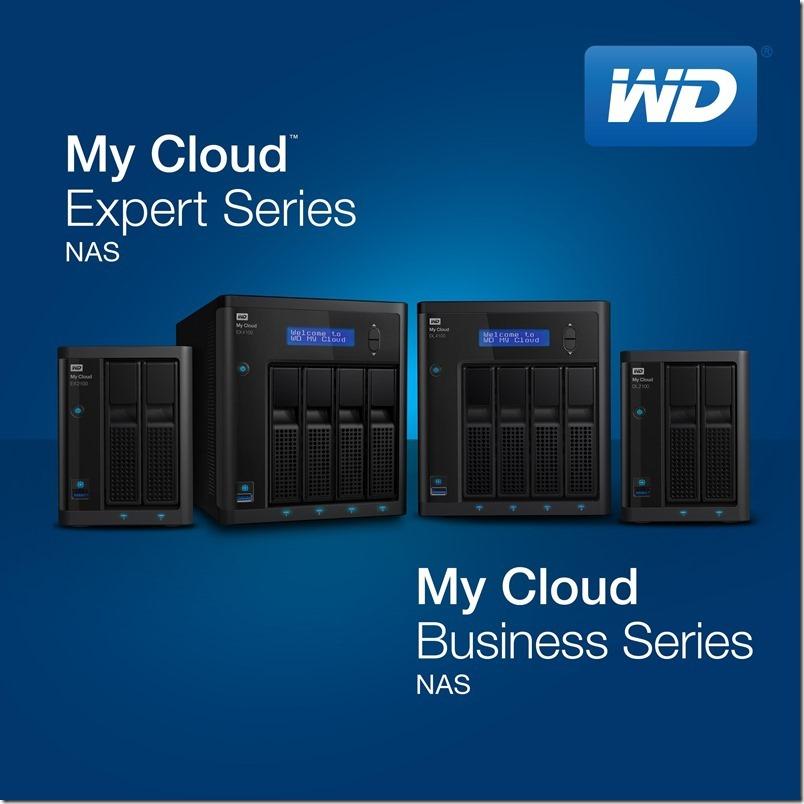 WD為專業人士及商用市場推出MY CLOUD系列高效能NAS解決方案