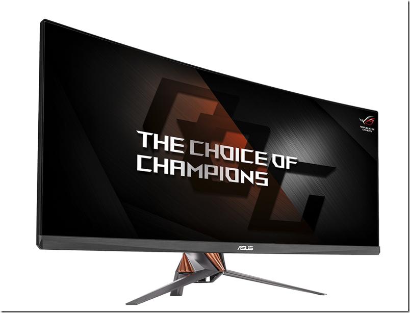 華碩ROG Swift PG348Q 34吋曲面UWQHD螢幕為玩家帶來身歷其境的視覺感受