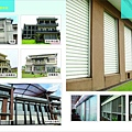 百葉窗安裝實例-別墅區