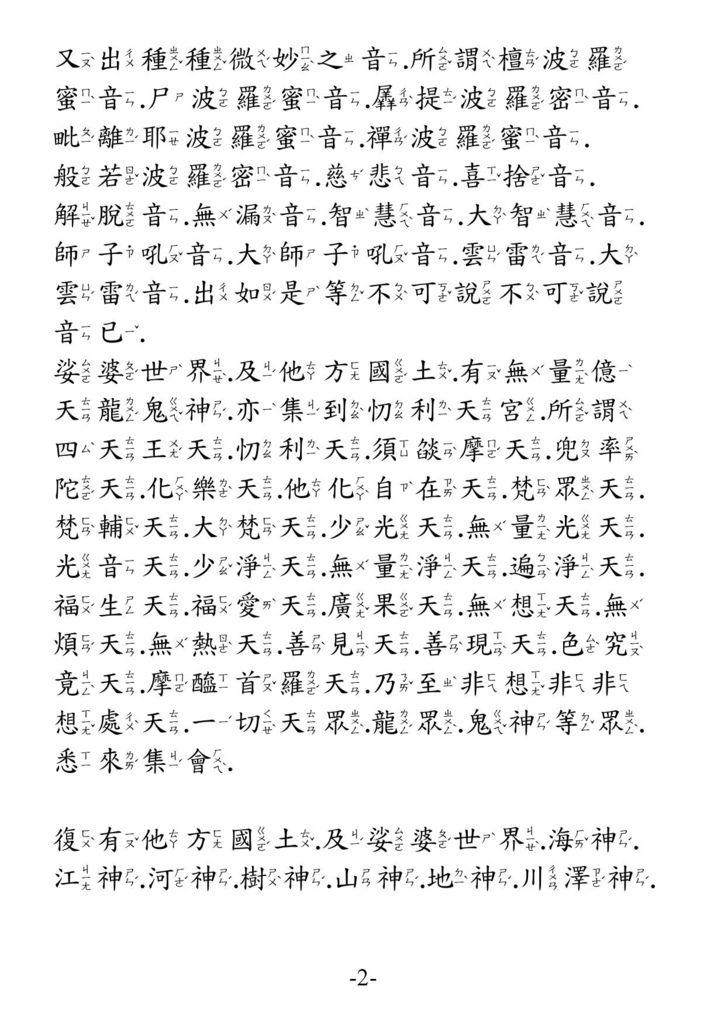 地藏菩薩本願功德經_卷上2