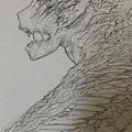 水妖-鉛筆稿