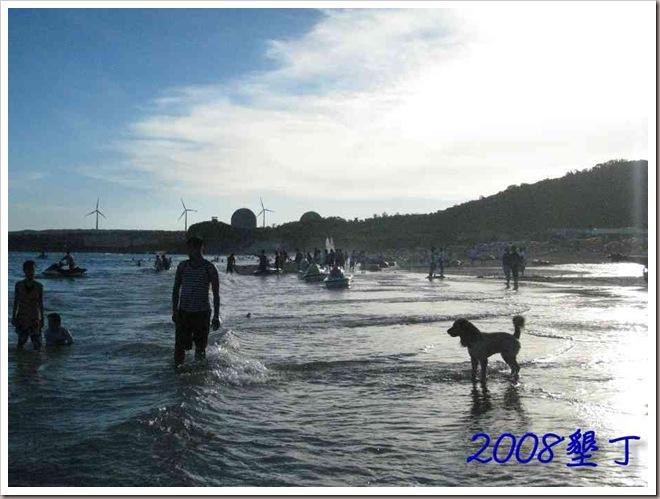終於下水-南灣2