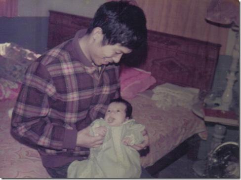 2滿月與爸爸