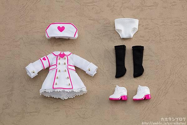 黏土娃 服裝套組 護士服(White)01.jpg