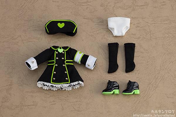 黏土娃 服裝套組 護士服(Black)01.jpg