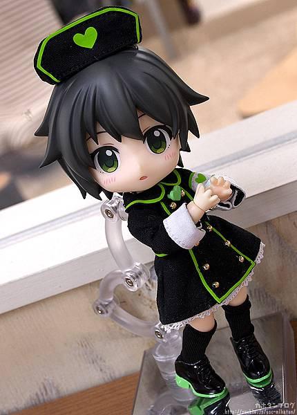黏土娃 服裝套組 護士服(Black)02.jpg