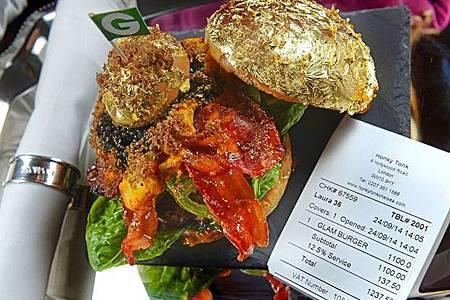 全世界最貴的漢堡! 「鑲金的」一個要價5萬5_0361