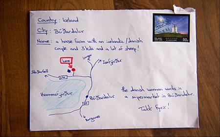 寄信不知地址畫地圖 冰島郵差照樣使命必達_a01