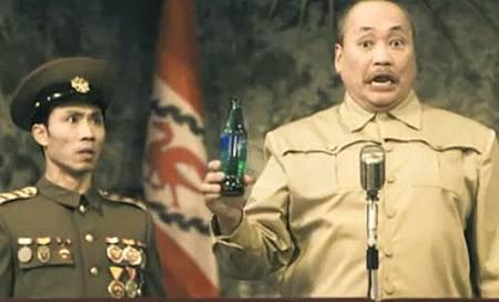 雪碧廣告惡搞北朝鮮閱兵儀式.jpg
