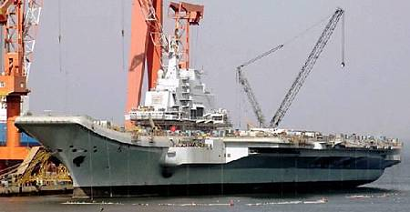 中國第一艘航母今年將下水.JPG