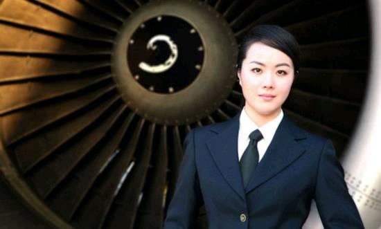陸最美女機長,29歲外型亮眼像湯唯_03.JPG