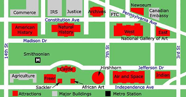 national-mall-map