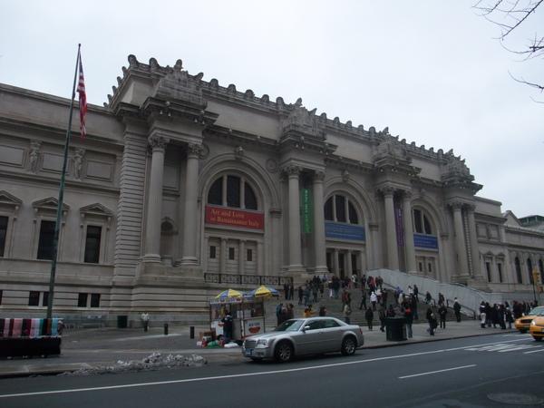 這天終於來到了傳說中的貴族上東區     目標是大都會博物館