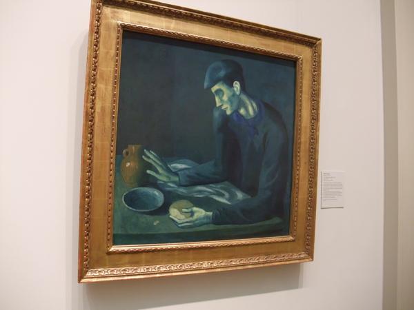 畢卡索的藍色系列