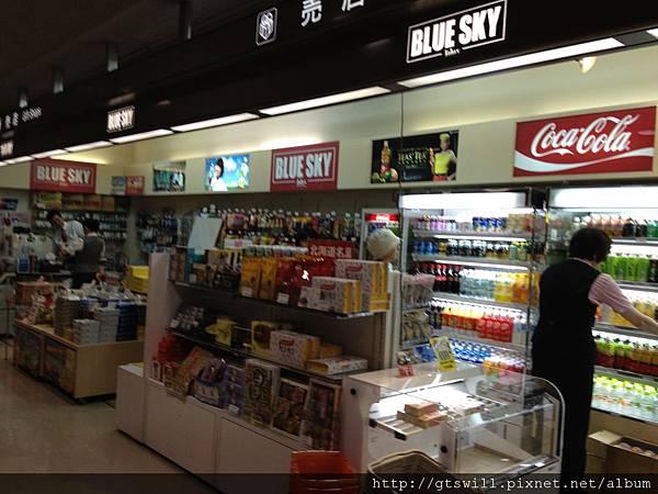 機場內的便利商店