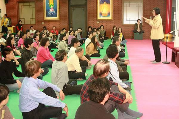 欣瑩分享禪修十五年來的改變與見證