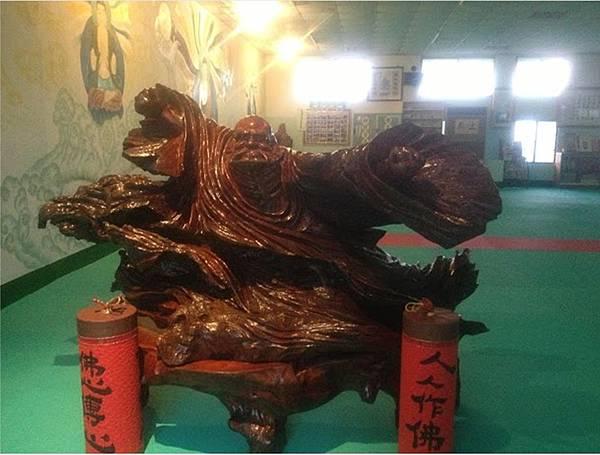 達摩祖師木雕法相