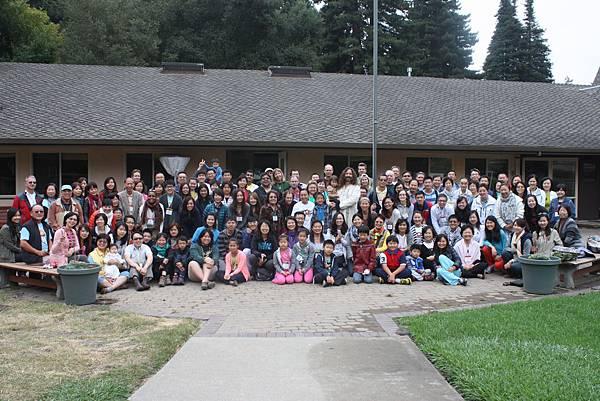 2014美國禪訓營合照