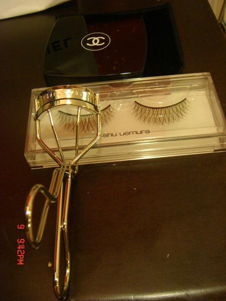 Shu uemura睫毛夾、假睫毛(奢華)