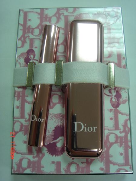 DIOR 俏女郎迷妝盤-紫羅蘭限定版 盒子及刷具