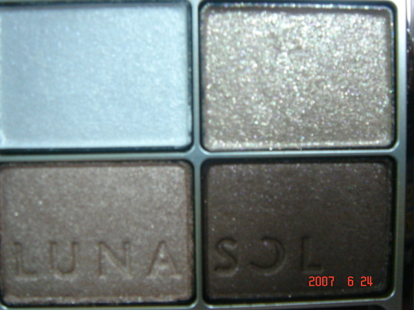 LUNASOL的晶巧光燦眼盒(淨采EX01) 咖啡色系
