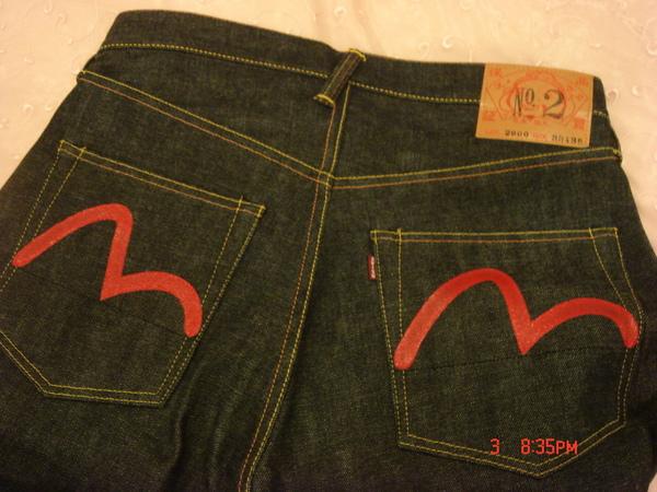 EVIS牛仔褲 外袋