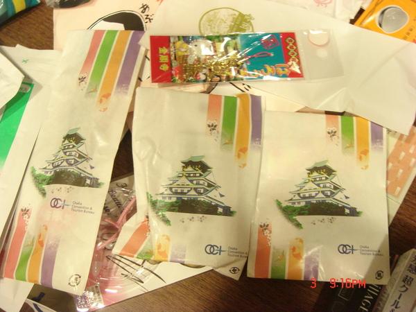 大阪城小吊飾
