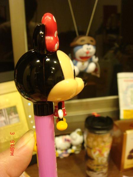 MICKEY及MINIE的造形筆