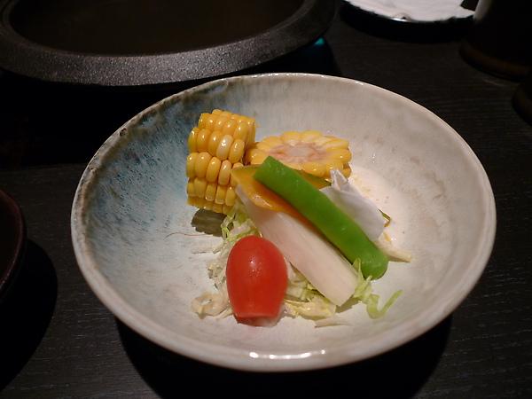前菜:蔬菜沙拉