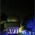 天文台夜景-合成星星版本