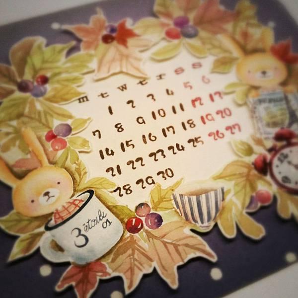 小兔手工月曆~
