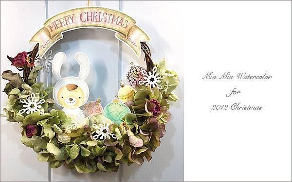耶誕花圈01