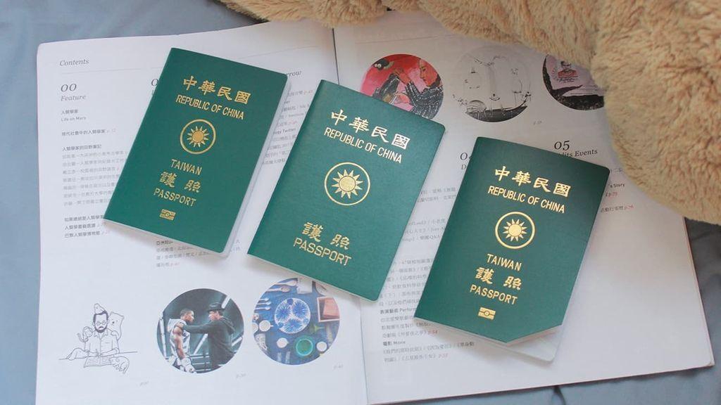 Taiwan-possport