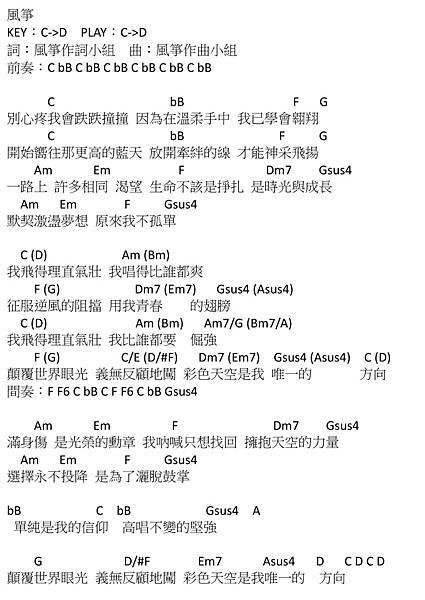 風箏_2012十五所高中同學大合唱