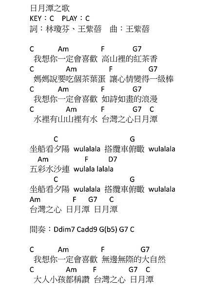 日月潭之歌_水果冰淇淋(王紫蓓)