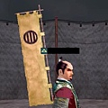竪三引両本旗印
