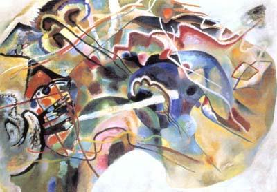 康丁斯基的畫作