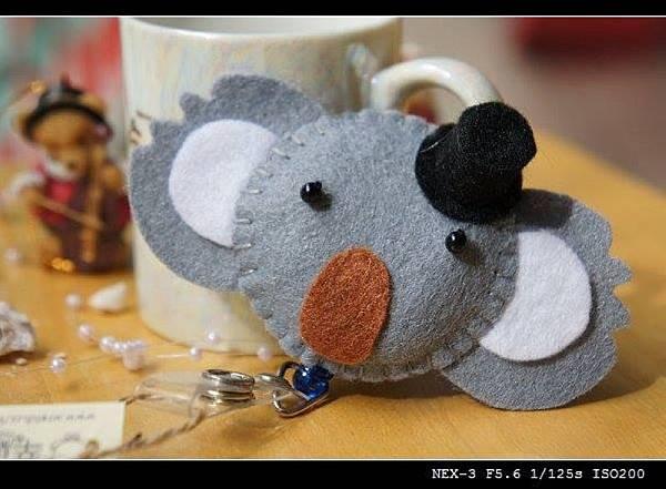 帽子灰色無尾熊 NT150.jpg