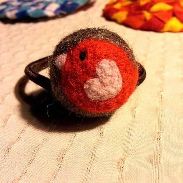 小鳥羊毛氈髮球NT100.jpg